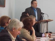 Выступление председателя Общественной палаты Архангельской области Александра Андреева